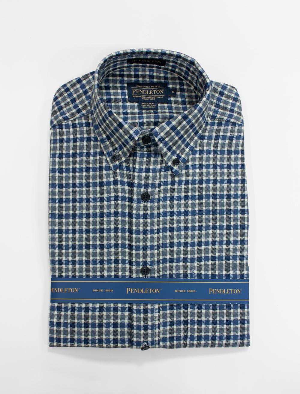 サーペンドルトンシャツ ブルースモールチェック