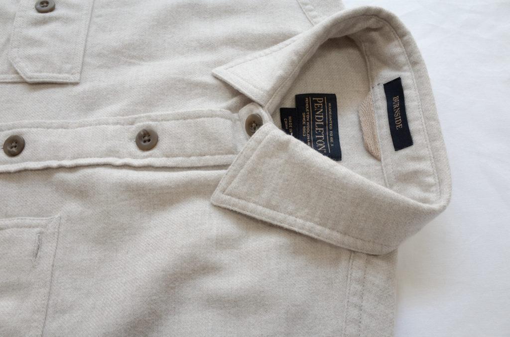 ペンドルトンバーンサイトシャツナチュラル