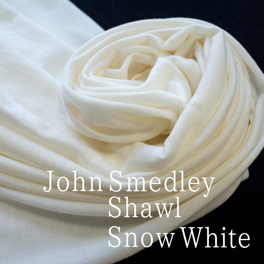 ジョンスメドレーA4416ワイドショールスノウホワイト